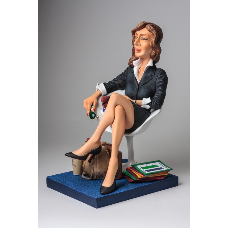 BUSINESSWOMAN - Figurina Cadou L